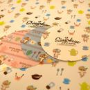 紙コースター(4種セット)