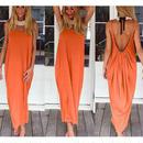 Tropical Vacation バックレスドレス