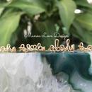 Manoa Love Design/ Aloha,  Al♡ha,  aloha, A🌊oha ワイヤーリング