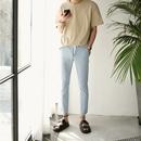 [メンズ] グッドバンディング・カッティング・デニムパンツ - 3Color