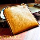 イタリアンオイルレザーアリゾナ・L型財布(ライトマスタード)