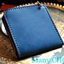 イタリアンレザー・革新のプエブロ・L型財布(オルテシア×コッチネラ)