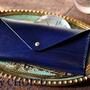 革の宝石ルガトー・長財布2(紺)