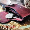 イタリアンレザー・革新のプエブロ・ミニマム財布(コッチネラ×ネイビー)