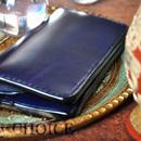 革の宝石ルガトー・長財布(紺)