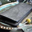 イタリアンレザー・革新のプエブロ・長財布(グリージオ)
