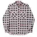 BAL - WAVE FLANNEL SHIRT - WHITE