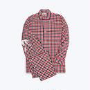 SLEEPY JONES // Lowell Pajama Set Gingham Flannel