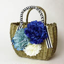 Flower Bag Gold M               [BLUE]