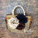 Flower Bag Gold M          [FRINGE Gold]