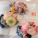 【限定】和風×デニム・和玉チョーカー
