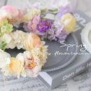 【再販】春色花かんむり(ラナン、ワイルドローズ)