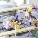 【S様オーダー】チョーカー&麦わら&花かんむり