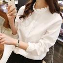 ブラウス❤襟に注目!ベーシックな長袖のあると使えるシャツです! hdfks960011
