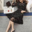 ワンピース❤シースルー花柄刺繍で可愛い綺麗なイメージにしたい方へ! hdfks961095