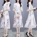 ワンピース❤形は韓国ファッションですが、なんか神秘的な柄が和風チックで選びました! hdfks961498