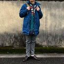 【期間限定セール】80S woolwich mountain parka navy blue/used/usa古着
