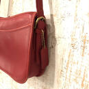 coach shoulder bag red