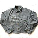 60S Key engineer jacket herringbone