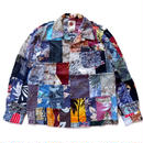 Nasngwam (ナスングワム) /remake aloha patchwork shirt/L