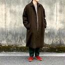 UNIVERSAL TISSU (ユニバーサルティシュ)/wool tweed trench coat/ブラウン