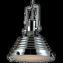 Iron Industrial Pendant lamp chrome Φ35cm