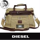 DIESEL ディーゼル 2Way ビジネス トート ショルダーバッグ 00XL30 PR659 H2255 ベージュ