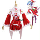 Re:ゼロから始まる異世界生活  レム クリスマスドレス ハロウィン コスプレ衣装  8/21  43