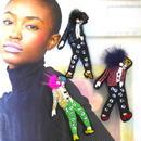 Michael  Jackson | ビーズブローチ hand made beads brooch