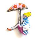 ビーチサイド | ビーズブローチ hand made beads brooch