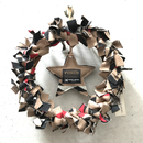 "PENDLETON×MB7r WALL WREATH ""OVER ALL BEIGE"""