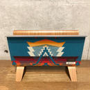 PENDLETON×MB7r MAGAZINE RACK  TEAK OVER ALL TURQUOISE
