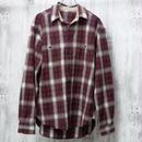 チェックワークシャツ