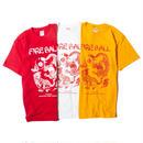 FIRE BALL - TIGER & DRAGON Tシャツ