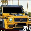 メルセデスベンツ Gクラス フロントルーフスポイラー LED w463 g500 g550 g55 g63 g65