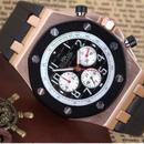 PAULAREIS 自動巻き 機械式腕時計  メンズ ラバーストラップ 8色展開