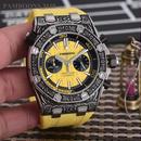 ロイヤル・オーク風メンズウォッチ 自動巻 機械式腕時計 ミリタリーカラバリ3色