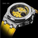 [選べる4色] DIDUN  クォーツ腕時計 クロノグラフ メンズ ダイバー