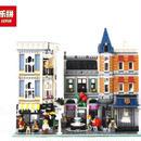 LEPIN レゴ互換 アセンブリスクエア 10255相当 クリエイター ブロックおもちゃ