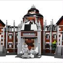 LEPIN レゴ互換 バッドマン ムービーアーカム アサイラム 70912相当 ブロックおもちゃ