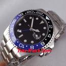 Bliger 43mm 自動巻き 機械式腕時計 メンズ サファイアガラス  セラミック