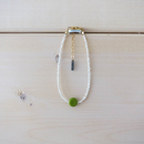 Grass Beads Bracelet (Lime Green)