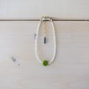 Grass Beads Bracelet (Lime Green)