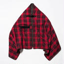 "Flannel Check ""Traveling Rug""/RED [MW-AC18209]"