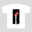 【受注生産:6月下旬発送】メダロットTシャツ_ロクショウ01_ホワイト