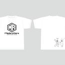 【受注生産:6月下旬発送】メダロッターズTシャツ_ホワイト