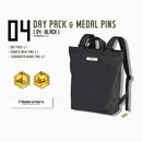 【数量限定再販:6月末発送】メダロッターズデイパック - メダルピンズ付き -  04 ブラック