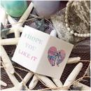 ヤシの木ハート(プレゼントカード)