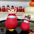 【苺ぼうや】福袋(招き猫マスコット&狛犬ストラップなど計8個入+クーポン付き