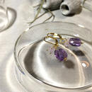 Clear Eme - Pierced Earrings and Earrings - Amethyst, LV